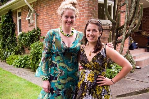Claudia and Camilla