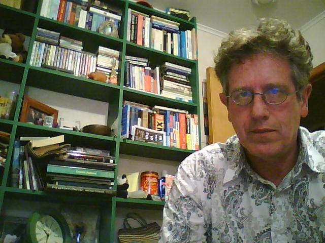 Self portrait with webcam 2008/12/27