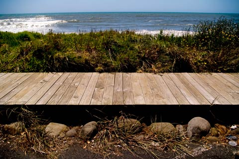 Boardwalk, Waitara, Taranki