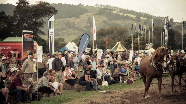 Watching NZ ploughing Championships 15/4/2012
