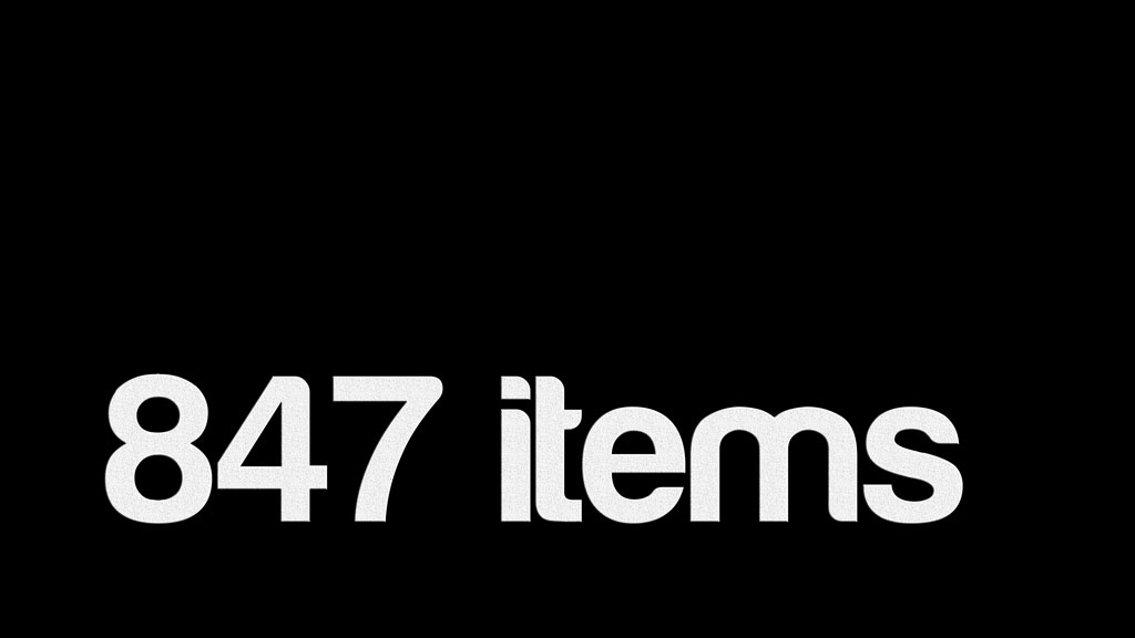 847 items