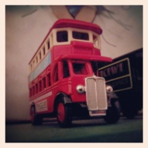 Double decker bus (Matchbox) *thinks* Harry Potter