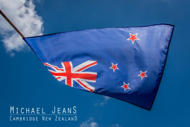 A New Zealand flag