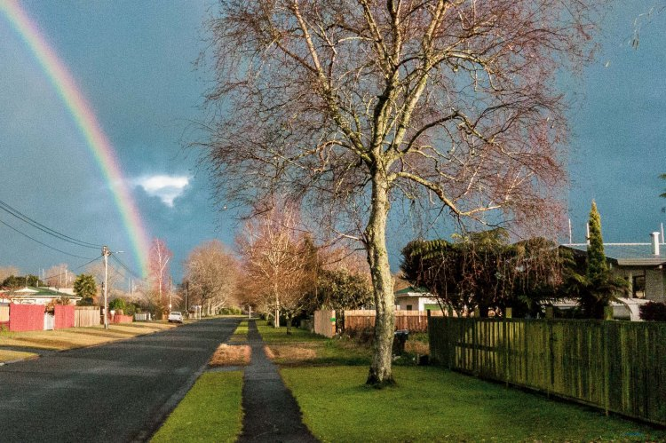 'always the rainbow'