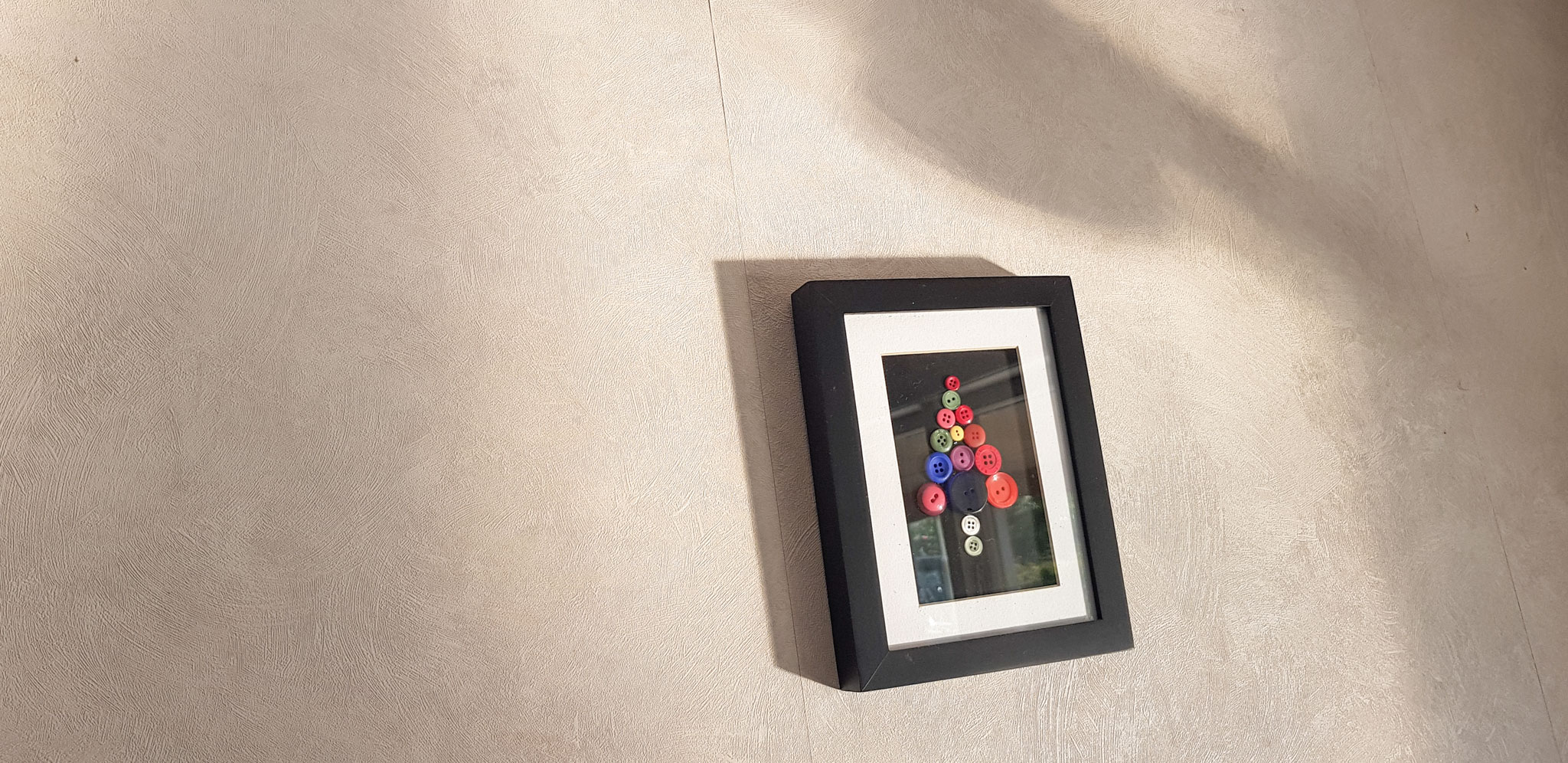 Button Christmas tree card Julia Bull c.2012?