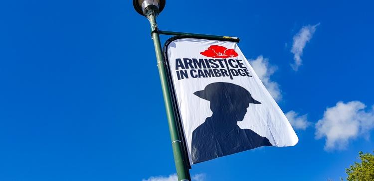 Armistice In Cambridge WW1 WW100