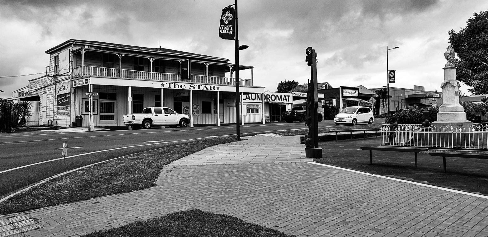 Rewi Maniapoto Memorial, Kihikihi, Waikato.