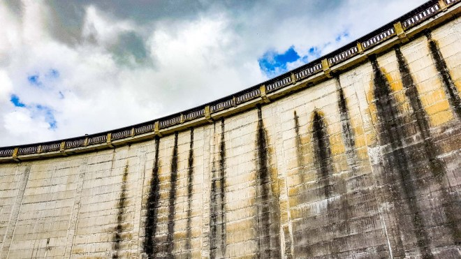 Karapiro Hydro Electric Dam, Waikato River, New Zealand 1.9.18