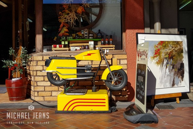 Motorcycle ride. Dante's Fine Foods,