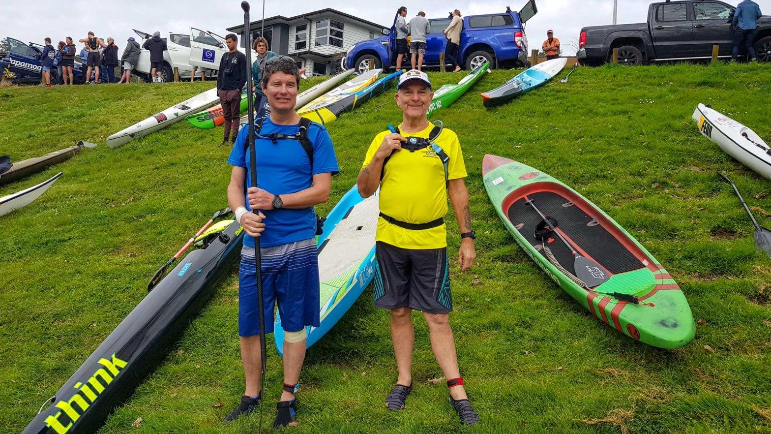 Cambridge - Hamilton Paddle Race (Waikato River) 2018