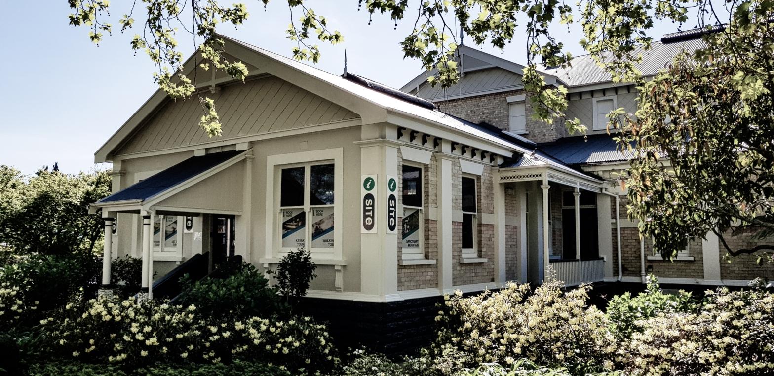 iSite Cambridge (Carnegie library), Waikato, New Zealand