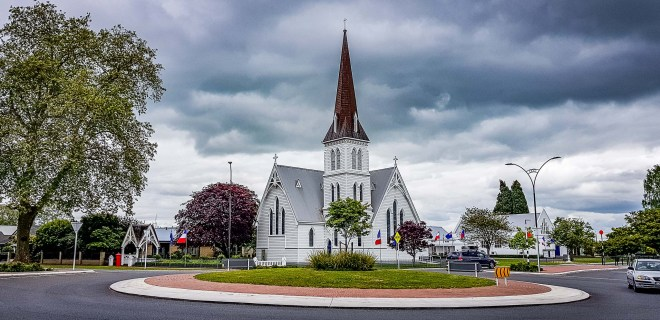 St Andrews Anglican Church, Cambridge, Waikato, New Zealand.