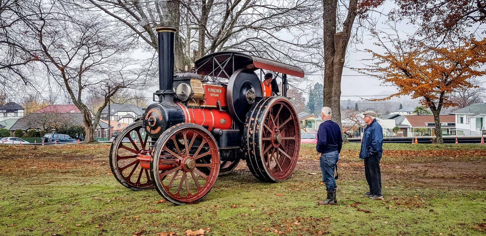 John Fowler & Co steam powered traction engine