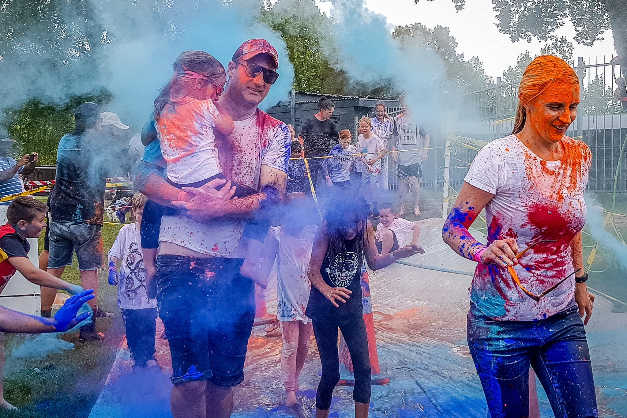 Leamington School Colour Blast 2018