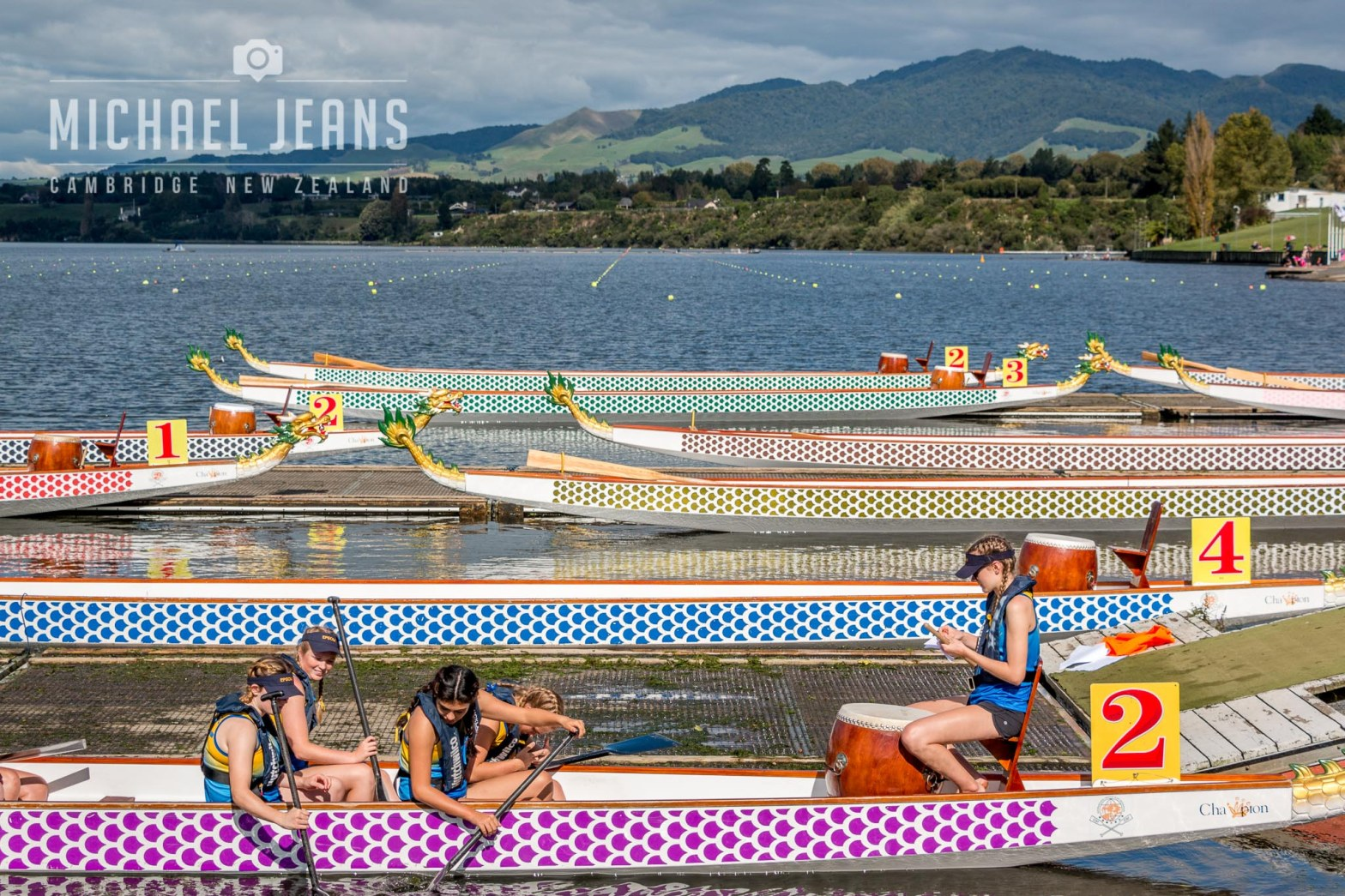 NZDBA Dragonboat National Championship regatta Lake Karapiro April 2017