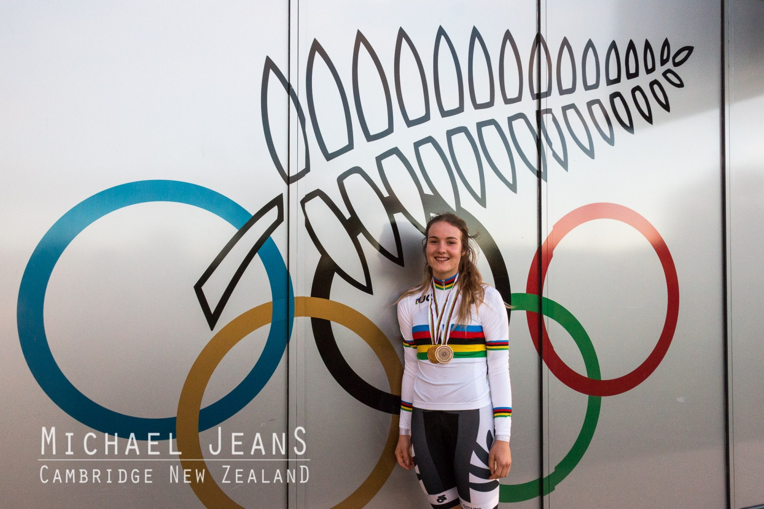 Ellesse Andrews gold and bronze medal winner at the 2016 UCI Junior Track Cycling World Championships