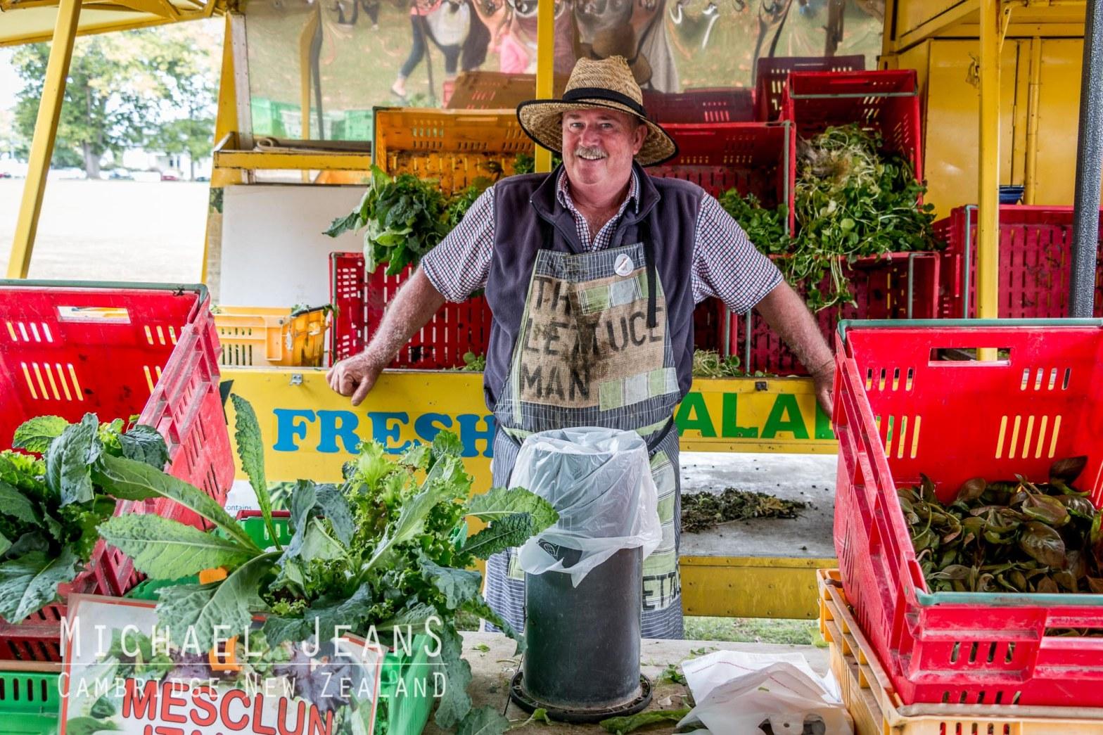 The Lettuce Man Cambridge Farmers' Market Victoria Square