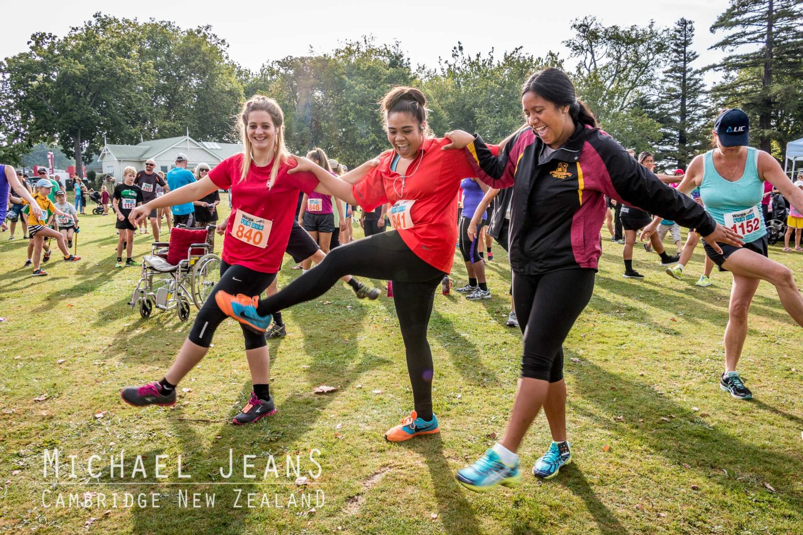 Waipa Fun Run 2015 Victoria Square Cambridge New Zealand