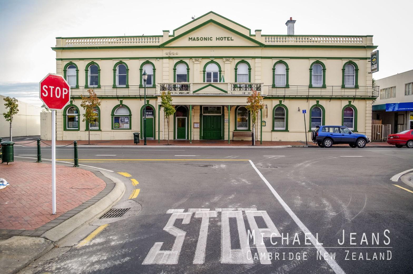 Masonic Hotel Cambridge New Zealand