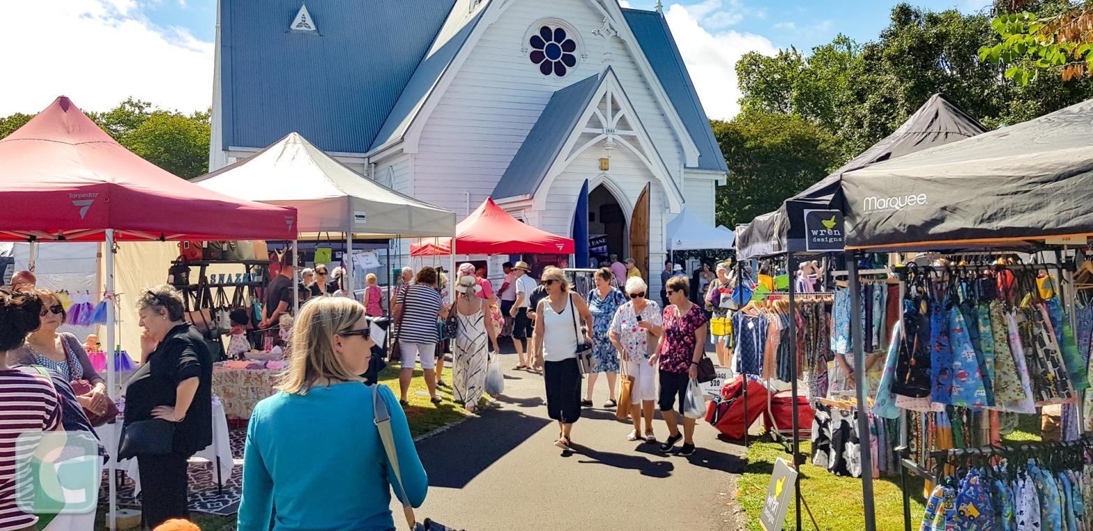 St Andrews Craft Fair, Cambridge, New Zealand Auckland Anniversary Weekend