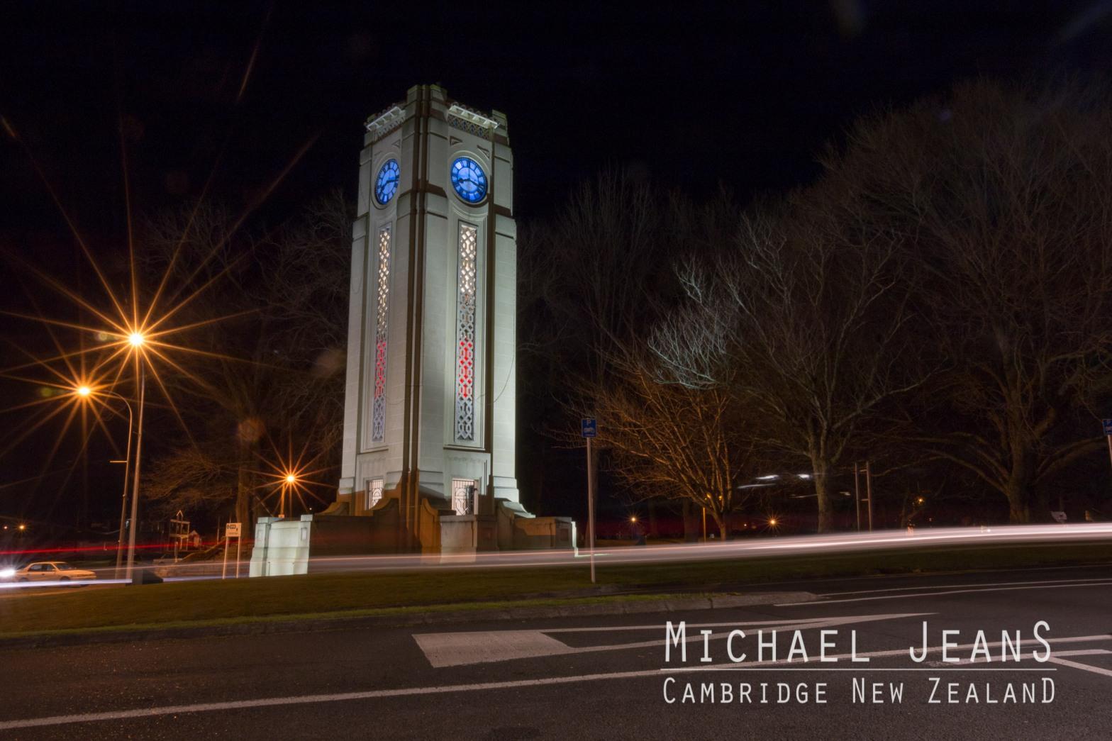 Clock Cambridge New Zealand