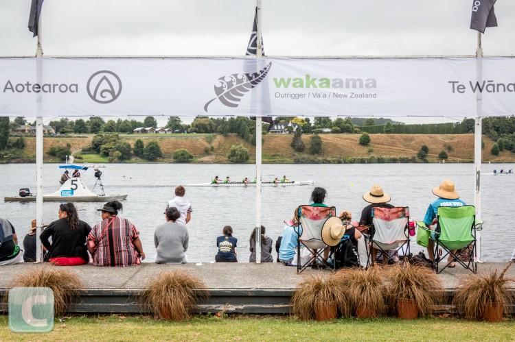 Waka Ama Sprint Nationals 2019, Lake Karapiro, Waikato, New Zealand