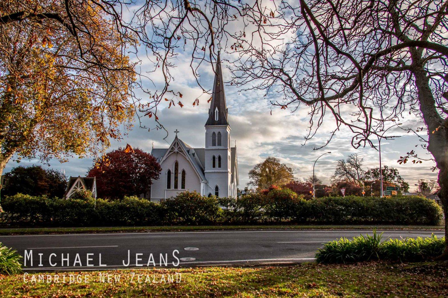 St Andrews Anglican Church Te Kō Utu Park Cambridge Domain New Zealand