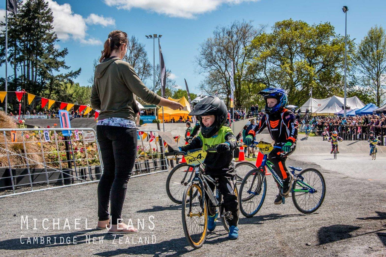 Sarah Walker gifts Cambridge BMX track