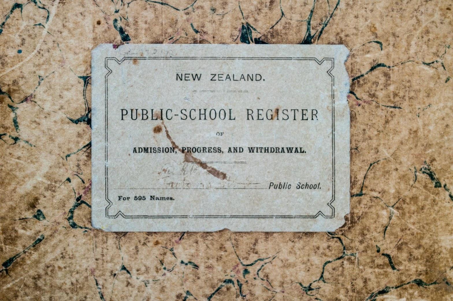 Public School Register Taotaoroa No2 Whitehall School February 2013