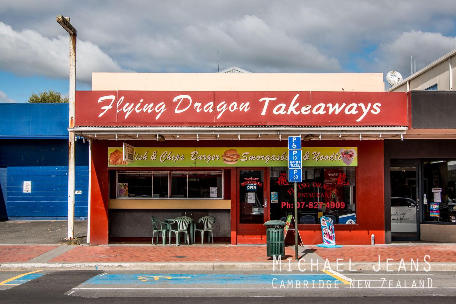 Flying Dragon Takeaways 83 Duke Street Cambridge New Zealand