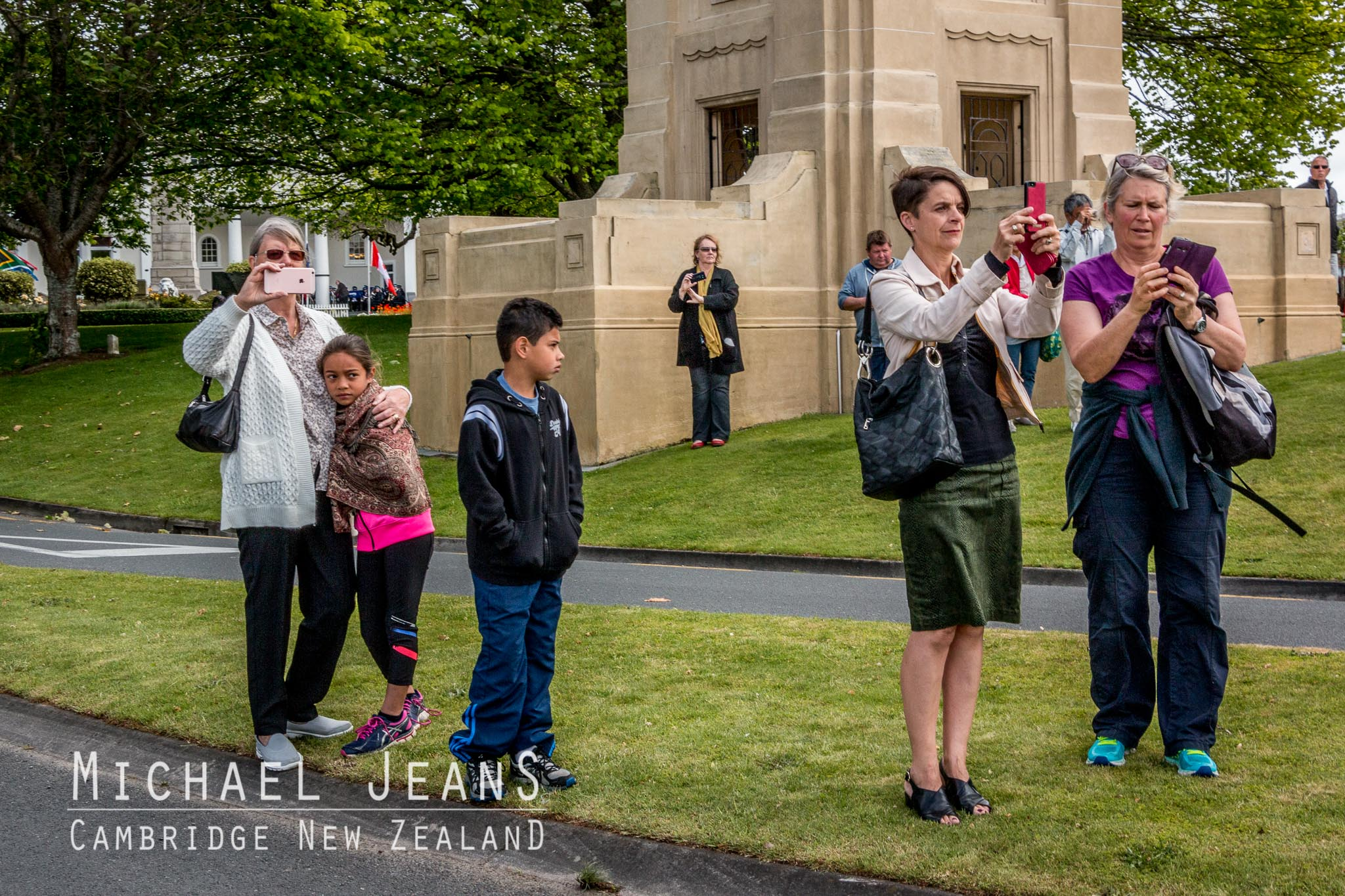 at the Parade Armistice in Cambridge New Zealand 2016
