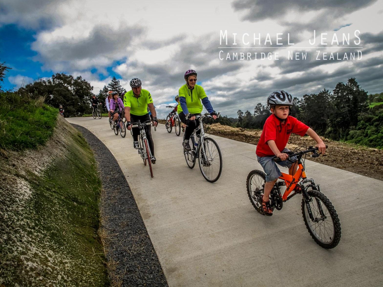 Te Awa River Ride Pukekura Waikato